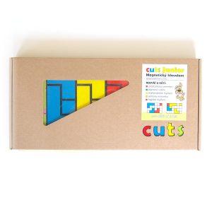 Magnetický hlavolam Cuts Junior, darčekové balenie, magnetické puzzle pre malé deti | Cuts-hlavolam.sk