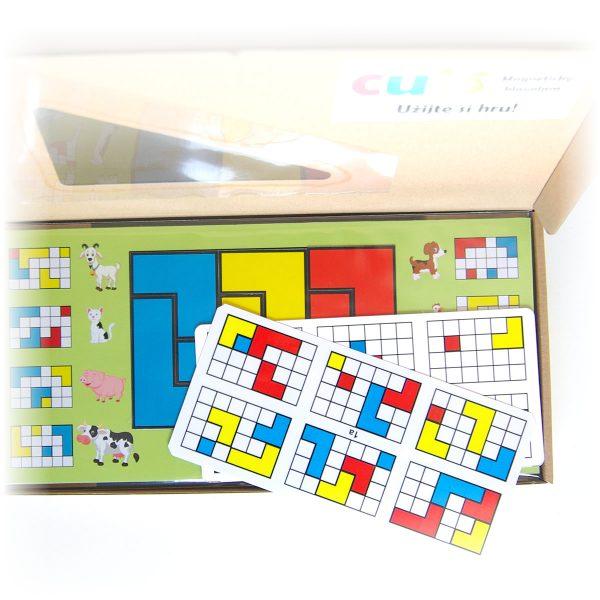 Detský hlavolam Cuts Junior, darčekové balenie, magnetická hra pre malé deti | Cuts-hlavolam.sk