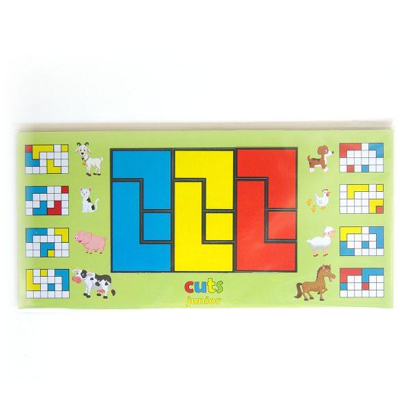 Detský hlavolam Cuts Junior, magnetický hlavolam pre najmenšie deti, hracia doska | Cuts-hlavolam.sk