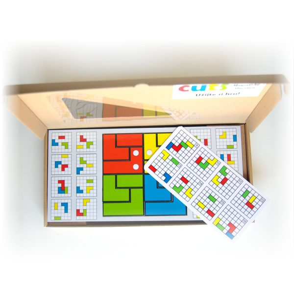 Magnetické puzzle pre deti Cuts Line, magnetický hlavolam pre deti, darčekové balenie, otvorené | Cuts-hlavolam.sk