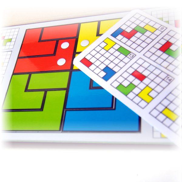 Magnetické puzzle pre deti Cuts Line, magnetický hlavolam pre deti, detail hry | Cuts-hlavolam.sk