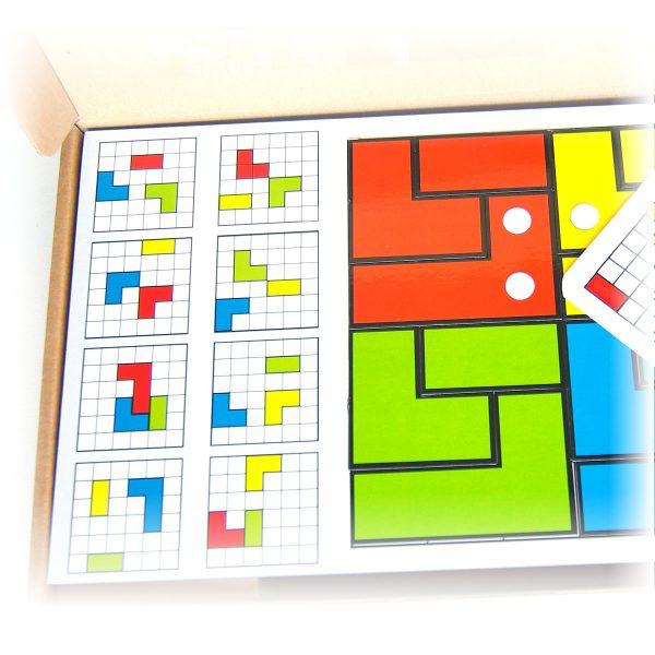 Magnetické skladačky pre deti Cuts Line, magnetický hlavolam pre deti, detail hry | Cuts-hlavolam.sk