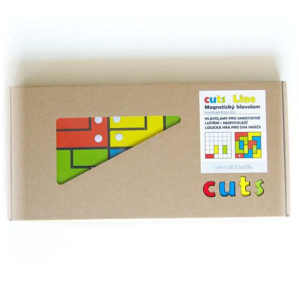 Magnetické skladačky pre deti Cuts Line, magnetický hlavolam pre deti, darčekové balenie | Cuts-hlavolam.sk