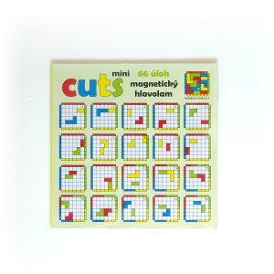 Magnetická hra pre deti Cuts Mini, logická hra pre deti, 66 úloh, predná strana | Cuts-hlavolam.sk