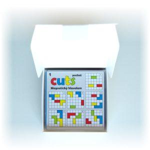 Magnetická skladačka Cuts Pocket Mega balenie, magnetická hra pre deti | Cuts-hlavolam.sk