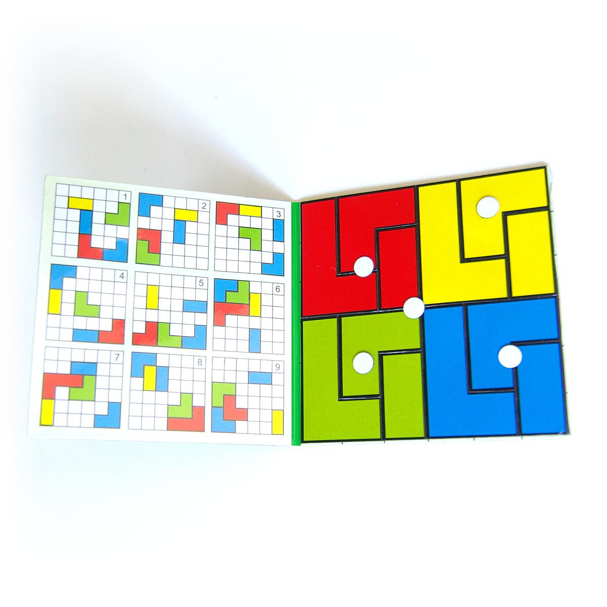 Magnetické puzzle Cuts Pocket, logická hra pre deti do kapsy, otvorený | Cuts-hlavolam.sk