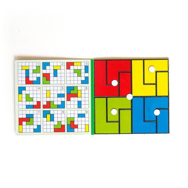 Magnetické puzzle Cuts Pocket, logická hra pre deti do kapsy | Cuts-hlavolam.sk