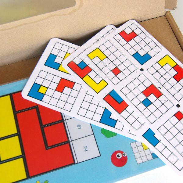 Magnetický hlavolam Cuts Senior, logická hra pre seniorov, detail úloh | Cuts-hlavolam.sk