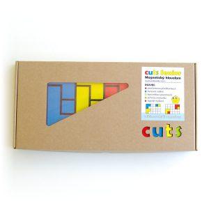 Hlavolam Cuts Senior, magnetický hlavolam pre seniorov, darčekové balenie | Cuts-hlavolam.sk