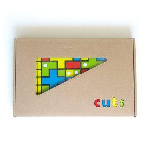 Hlavolam Cuts Stolná hra, darčekové balenie | Cuts-hlavolam.sk