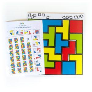 Hlavolam Cuts pre školy - magnetická hra pre školákov | Cuts-hlavolam.sk