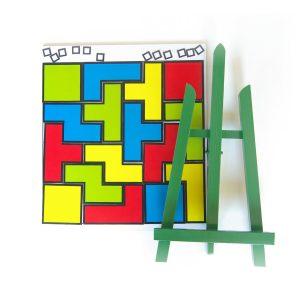 Hlavolam Cuts pre školy - magnetická hra so stojanom | Cuts-hlavolam.sk